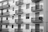 Shabby Apartment Block