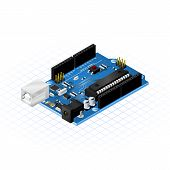 Isometric Single Board Microcontrollers