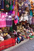 Souvenir and Handicraft Shop in Copacabana, Bolivia