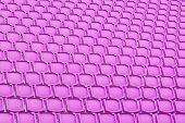 Purple Seat In Sport Stadium
