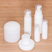 Different Body Care Cosmetics