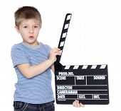 Little Boy With Clapper