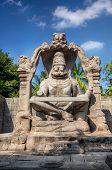 Narasimha Statue In Hampi