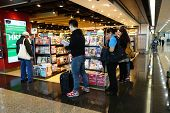 Customers Shop For Books On 23 Novemer 2014 In Hong Kong Airport.