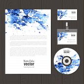 Vector Corporate Identity Template.