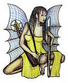 Sexy Gothic Fairy