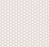 pic of hexagon pattern  - Vector seamless pattern - JPG