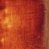 Old grunge template. With different color patterns: orange; red; brown; yellow