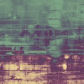 Old designed texture as abstract grunge background. With different color patterns: gray; blue; green; purple (violet); brown; yellow