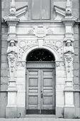 Old Door In Stockholm