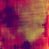 Abstract grunge background or old texture. With different color patterns: yellow; purple (violet); orange; brown; red