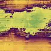 Old antique texture (for background). With different color patterns: green; purple (violet); brown; yellow