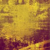 Old and weathered grunge texture. With different color patterns: purple (violet); brown; yellow