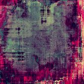 Art grunge vintage textured background. With different color patterns: purple (violet); green; red; blue