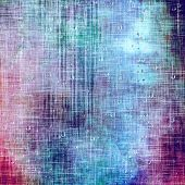 Designed grunge texture or background. With different color patterns: purple (violet); blue; pink