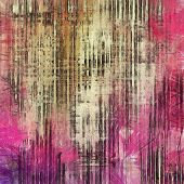 Old texture with delicate abstract pattern as grunge background. With different color patterns: gray; purple (violet); red; brown; yellow