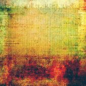 Vintage texture ideal for retro backgrounds. With different color patterns: green; orange; red; brown; yellow