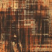 Grunge texture, Vintage background. With different color patterns: gray; orange; brown; yellow