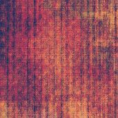 Rough vintage texture. With different color patterns: purple (violet); orange; red; brown; yellow