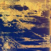 Old grunge textured background. With different color patterns: yellow; purple (violet); brown; gray; blue