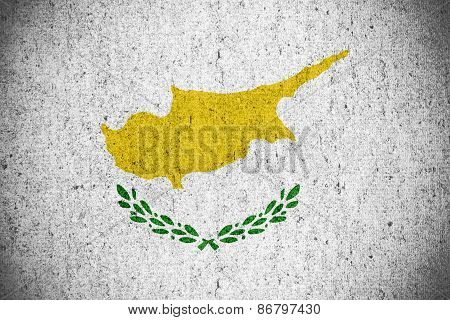 Постер, плакат: Flag Of Cyprus