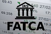 pic of accountability  - (FATCA) Foreign Account Tax Compliance Act. Concept with building icon. - JPG