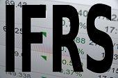 foto of financial audit  - IFRS is International Financial Reporting Standards - JPG
