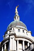 pic of bailey  - Scales of Justice of the Central Criminal Court fondly known as The Old Bailey in the city of London - JPG
