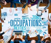 picture of experiments  - Occupations Careers Community Experience Global Concept - JPG