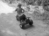 Boy At Play