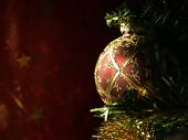 Sunlit Christmas Bulb