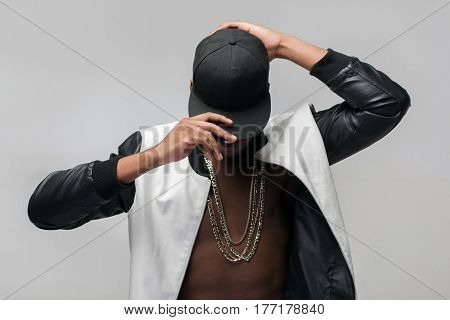Black afroamerican rebellious