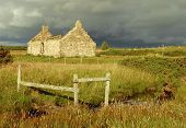 Ruined House On Moorland
