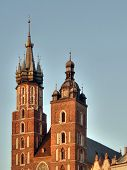Krakow. An Ancient Part Of City. poster