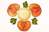 Tomato, Lemon And Parsley