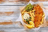 Fish And Chips - Fried Cod, French Fries poster