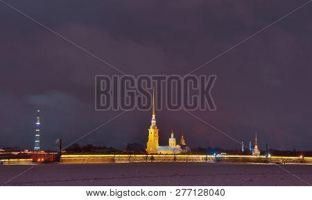 Saint Petersburg Winter Peter And