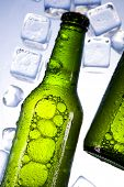 Ice and beer
