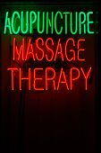 Acupunctuur massagetherapie