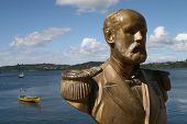 Statue Of Chilean National Heroe
