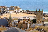 St. Ives Cornwall, Uk