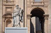 Statue of Saint Paul in Vatican