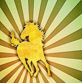 Sunburst Horse