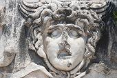 Medusa Gorgon in Apollo Temple