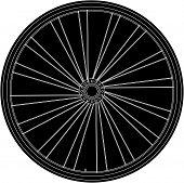 konzeptionelle abstrakte Bike Rad