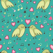 Birds-in-love-pattern