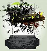 Vector Halloween Banner 1