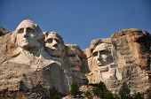 The Presidents on Mt Rushmore