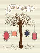 Vintage Frames Tree Concept