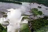Iguazu, the most famous and abundant waterfalls in the world.
